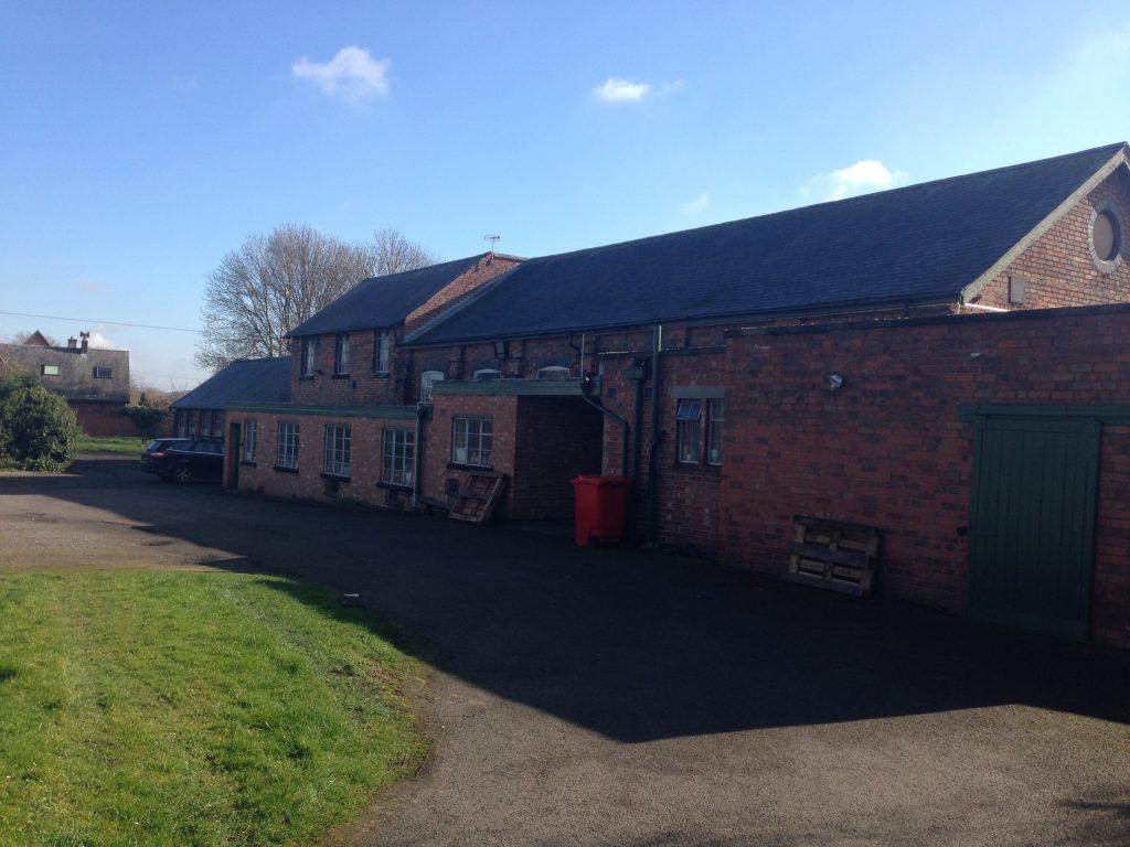 J Alex Swift sock factory, Hathern, Leicestershire